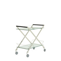 Iona Stainless Steel Drinks Trolly