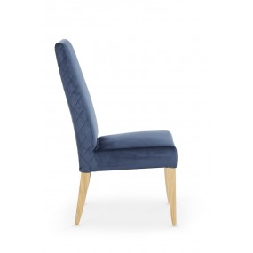 Capri Blue Fabric Chair