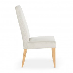 Capri Silver Fabric Chair