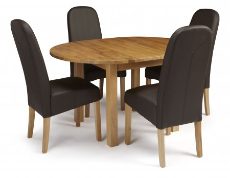 Davonport Extended and Albury Faux Dining Set