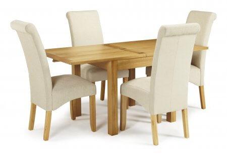 Geraldton Extended and Melbourne Plain Dining Set