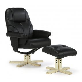Grenada Recliner with Footstool