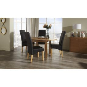 Davonport Extended and San Diego Faux Dining Set