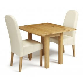Mildura Extended and Albury Faux Leather  Dining Set