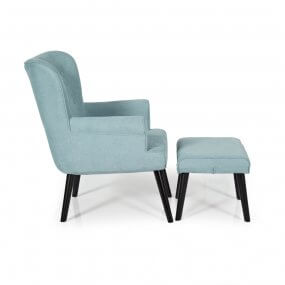 Toronto Chair with Footstool