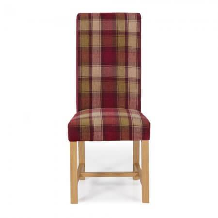 Ellenbrook Tartan Dining Chair