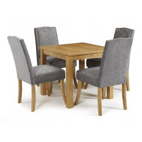 Geraldton and Mckay Fabric Dining Set