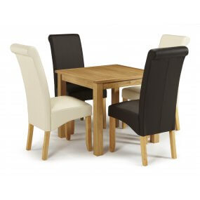 Geraldton and Melbourne Faux Dining Set