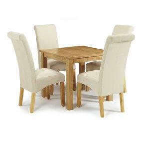 Geraldton and Melbourne Plain Dining Set