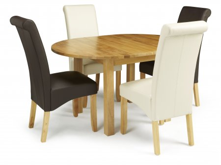 Davonport Extended and Melbourne Faux Dining Set