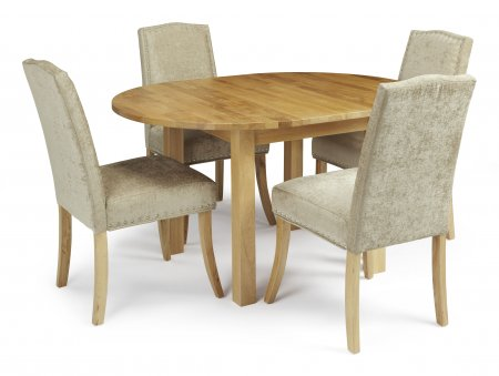 Davonport Extended and Mckay Fabric Dining Set