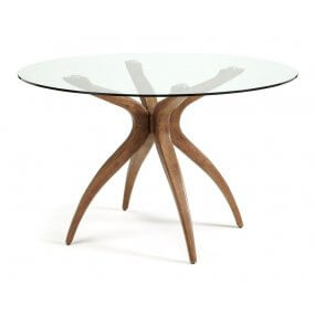 Bathurst Rounded Glass Table