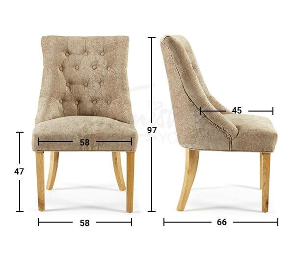 Hobart fabric chair free delivery months guarantee