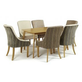 Sorrell and Adelaide Fabric Dining Set
