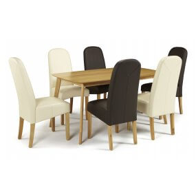 Sorrell and Albury Faux Dining Set