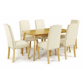 Sorrell and Darwin Fabric Dining Set