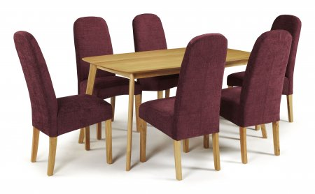 Sorrell and Albury Fabric Dining Set