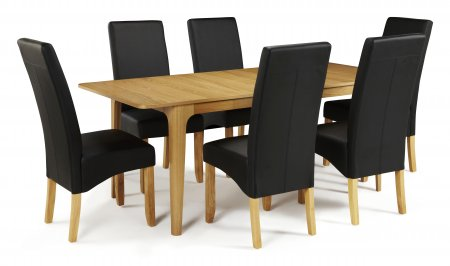 Barossa Extended and San DIego Faux Dining Set