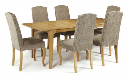 Barossa Extended and Darwin Fabric Dining Set