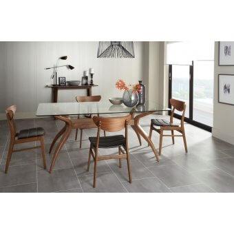 Bathurst Retangular Glass Table