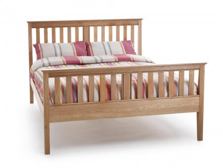 Canterbury High Foot End Bed