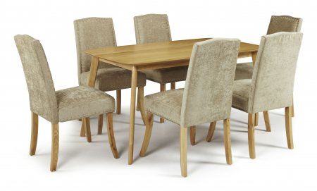 Sorrell and Mckay Fabric Dining Set
