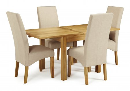 Geraldton Extended and San Diego Fabric Dining Set