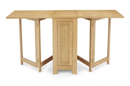 Treviso and Canberra Plain Fabric Dining Set