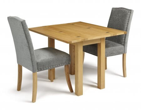 Mildura Extended and Mckay Fabric Dining Set