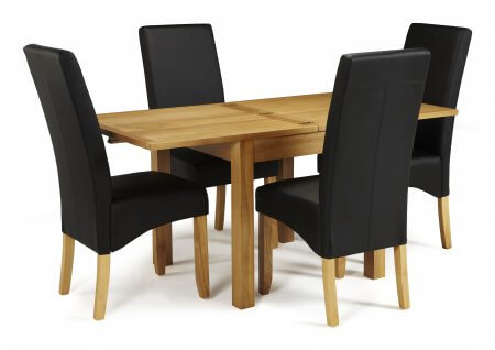 Geraldton Extended and San Diego Faux Dining Set