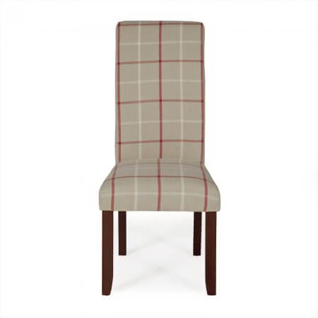 Melbourne Tarten Dining Chair with Walnut Legs