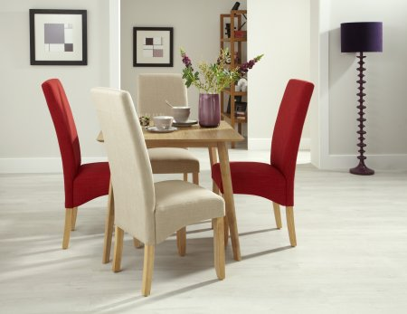 Sorrell and San Diego Fabric Dining Set