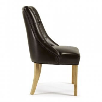 Hobart Bonded Leather Dining Chair