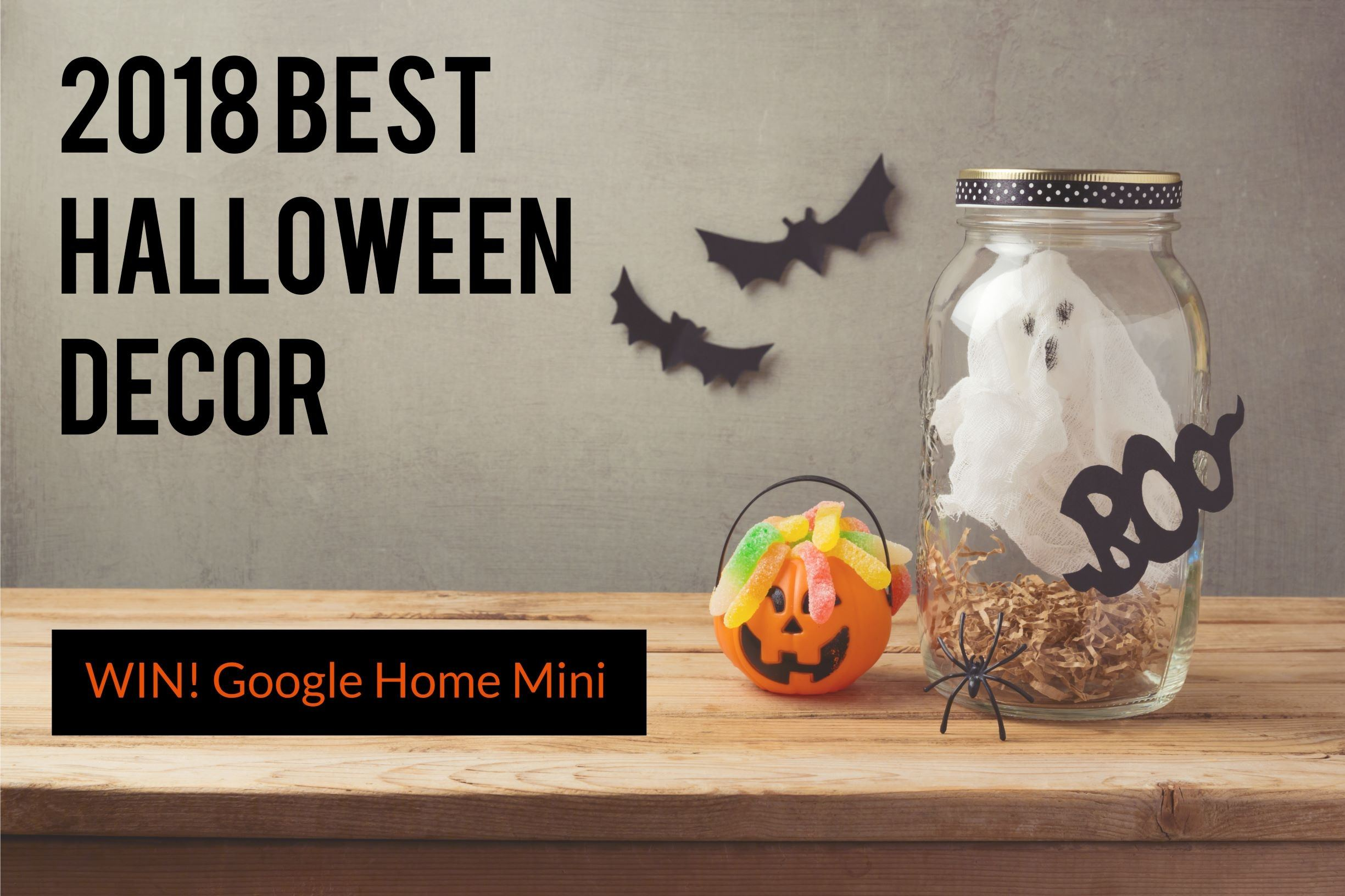 Halloween blogger competition