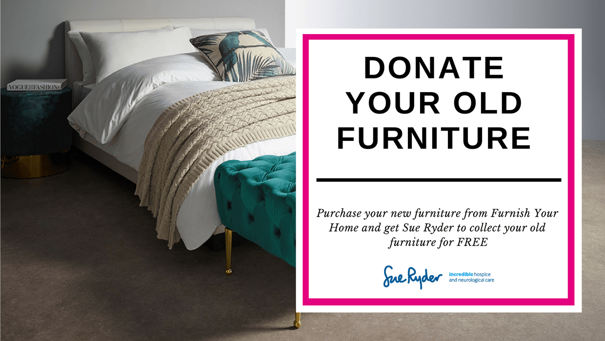 donate your old furniture