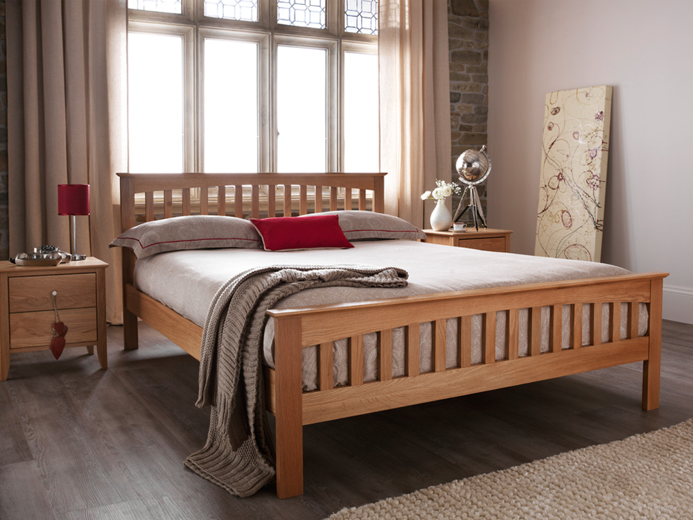 Alicia wooden budget best bed