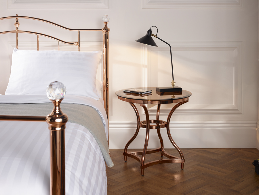 Layla Rose Gold Table