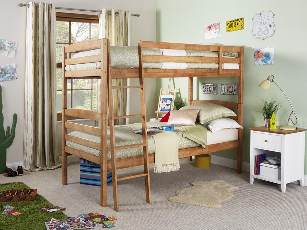 Phoebe wooden best bunk bed