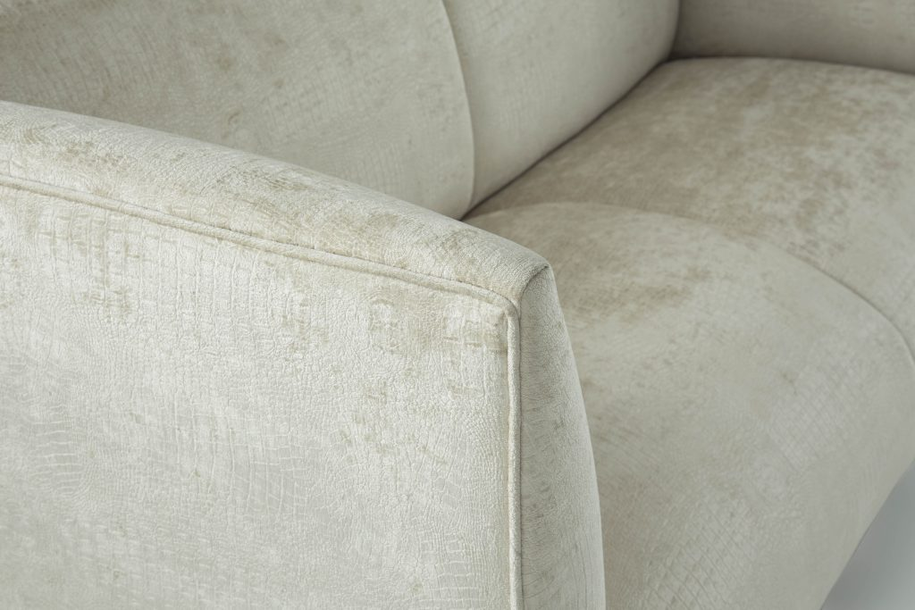 Imogen two seat sofa white