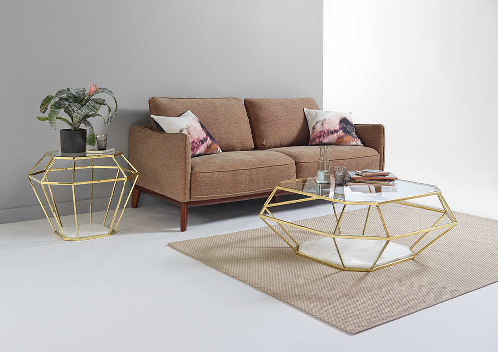 Bethan lamp and coffee table
