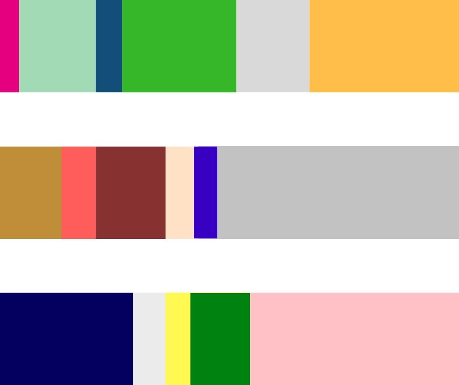 Colour Proportions