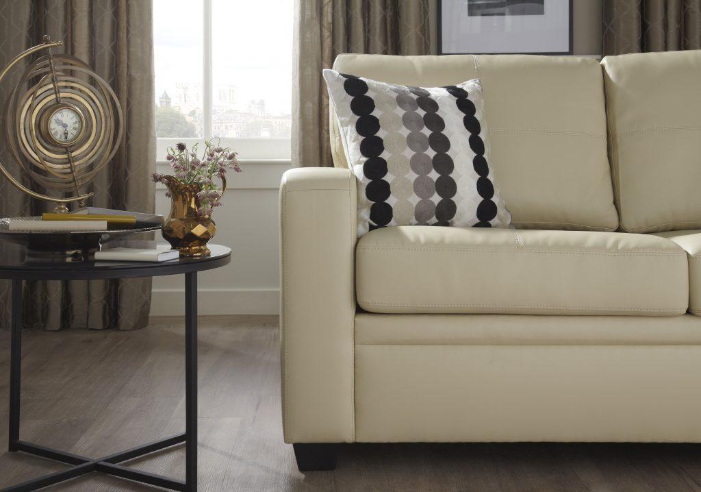 Padova Faux Leather Sofa Bed.